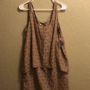 Forever 21 Small Tank Tan Top